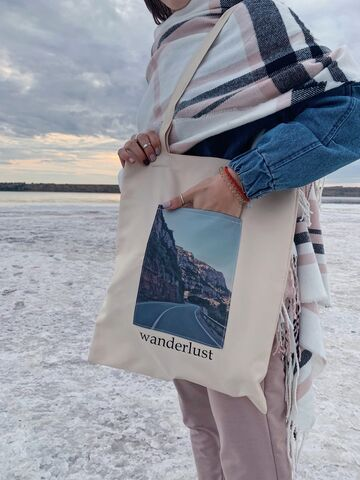 "Сумка-шоппер ""wanderlust"""