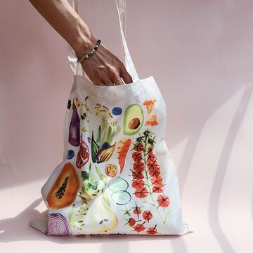 "сумка-шопер ""овощи"""