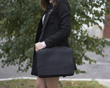 Чорна сумка 07005