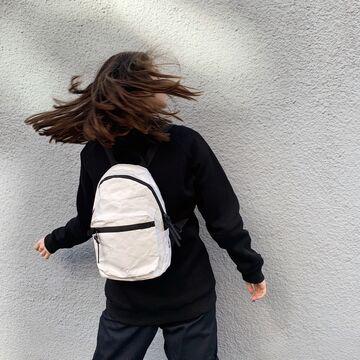 Білий рюкзак Тайто mini
