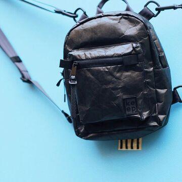 Графітовий рюкзак Даунтаун Мікра