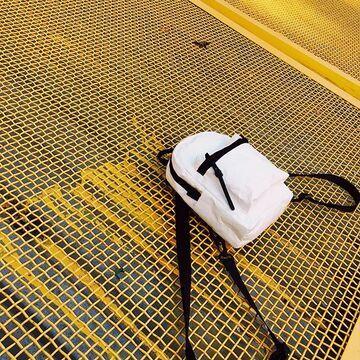 Білий рюкзак Даунтаун Мікра