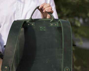 Зелений рюкзак 01006
