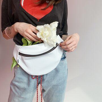 Поясна сумка Білі Тріщини