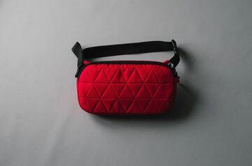 Червона поясна сумка Рog
