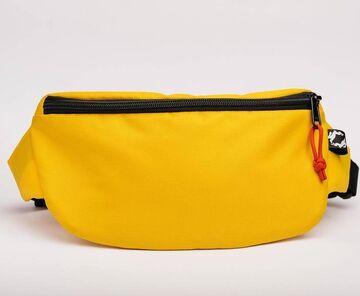 Жовта поясна сумка Hip Bag
